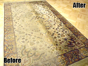 rug care, before and after examples, east coast rugs, rugs