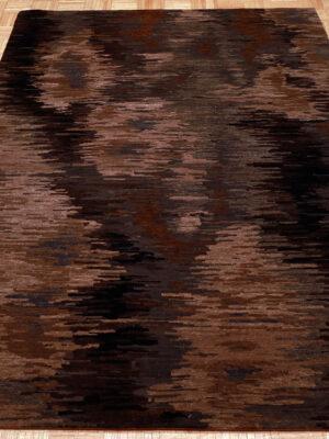 Tufenkian Tibetan Borealis Smoke (5.6'x8.6′)