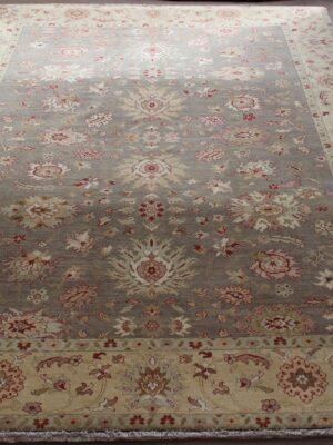9'x12′ Sage Wheat Antique Mahal
