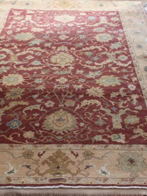 9'x12′ Red Wheat Egyptian Sultanabad