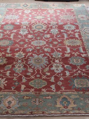 9'x12′ Ruby Green Egyptian Sultanabad