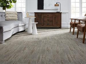 Broadloom Carpeting With A Fluid Design
